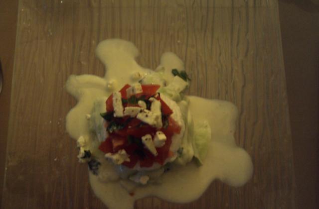 Tartare de concombre au chèvre frais - Photo par angiebH