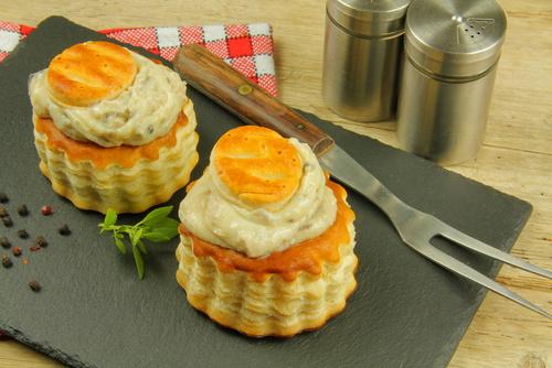 Bouchées de ris de veau à la reine - Photo par charlotte-rop