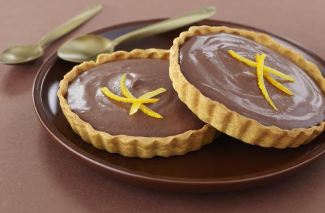 Tarte chocolat aux oranges confites - Photo par Soy