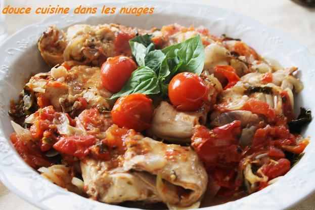 Lapin aux Tomates et Basilic - Photo par brigitXg