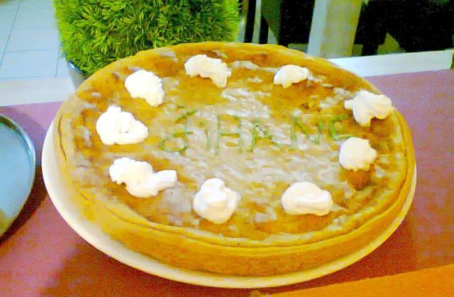 Tarte au fromage blanc et spéculoos - Photo par mar-jih