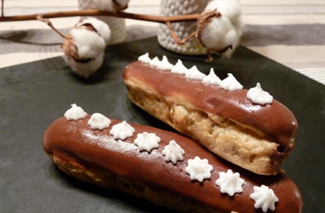 Eclairs au chocolat et à la fêve tonka - Photo par sandriyGX