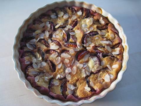 Clafoutis aux prunes - Photo par pauleb