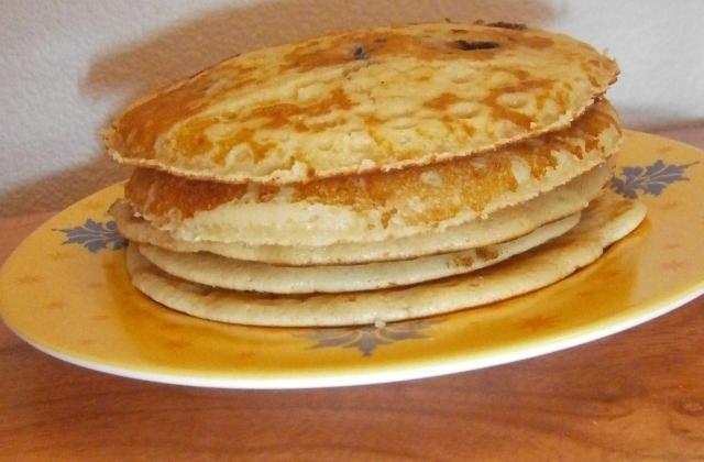 Pancakes à la myrtille - Photo par delicesdunenovice