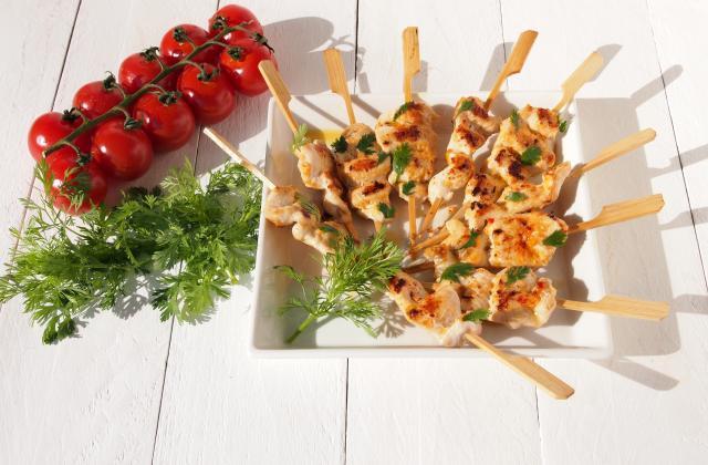 Brochettes Yakitori marinées à la sauce Samouraï - Photo par Amora