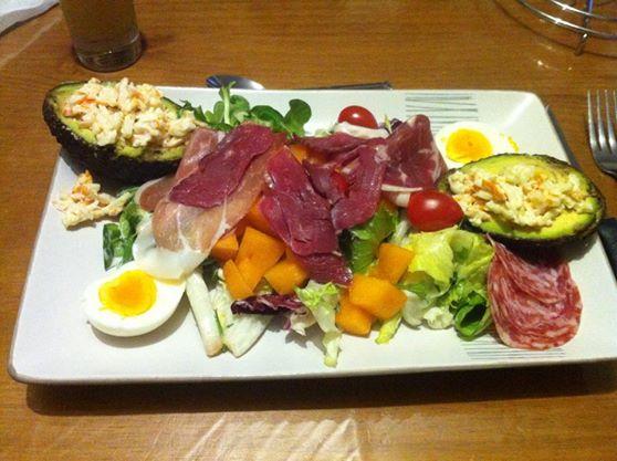 Salade gourmande aux melons - Photo par damiendWa