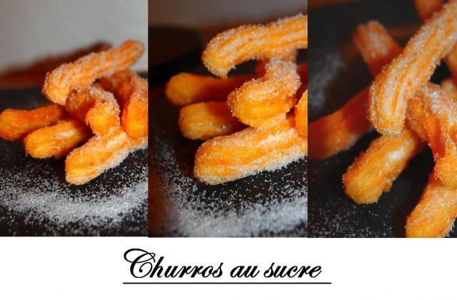 Churros au sucre ( ou chichis ) - Photo par lesdelq