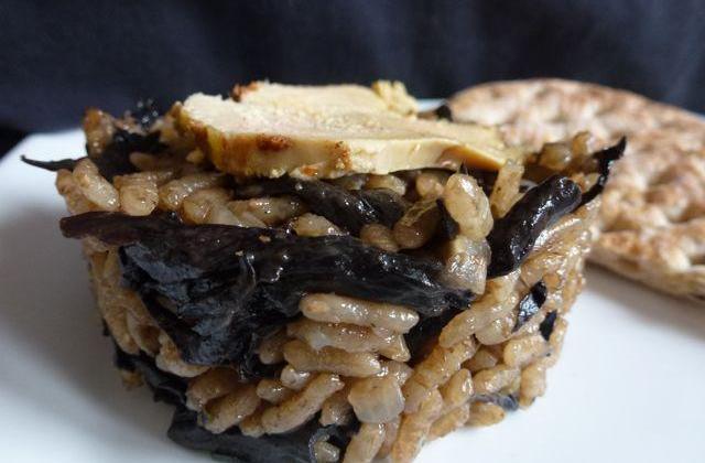 Risotto aux cèpes et au foie gras - Photo par Boljo