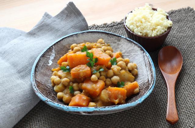 Couscous de légumes et pois chiches au Cuisine Companion - Photo par Silvia Santucci