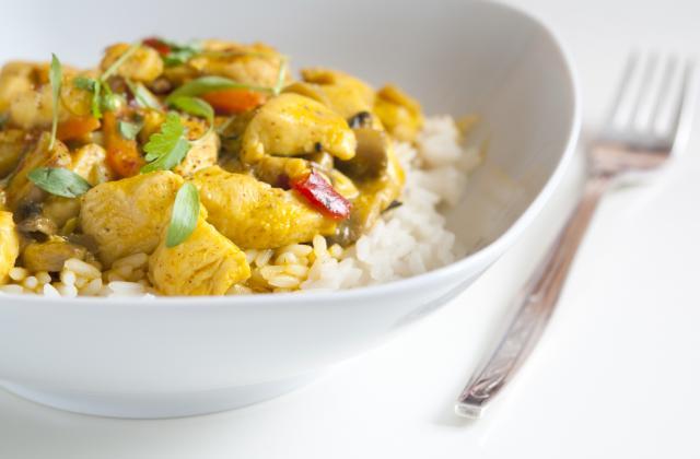 Curry de poulet façon Thaï - Photo par etsionmangeait
