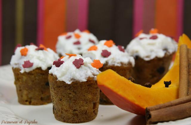 Pumpkin cakes - Photo par Parmesan et Paprika