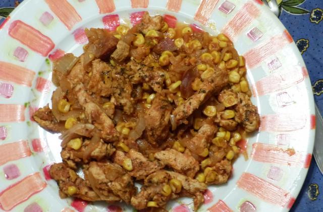 Poulet aux épices cajun - Photo par cgeners