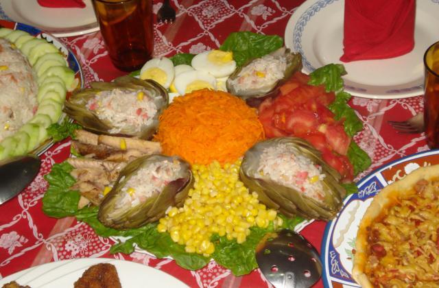 Salade minute - Photo par bertra0D