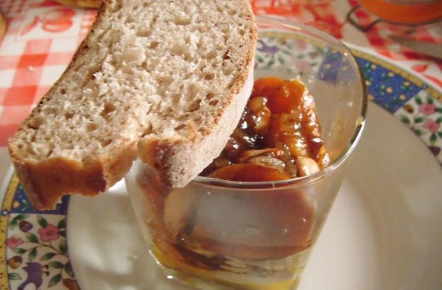 Verrine de foie gras - Photo par prunee
