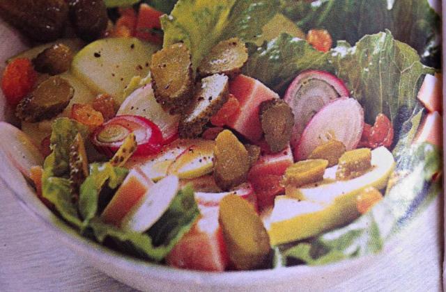 Salade croquante - Photo par poisondereve