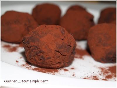 Truffes Chocolat, Marron et noisettes - Photo par cuisinertoutsimplement