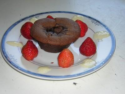 Coulants chocolat-pralinoise - Photo par beatri9w