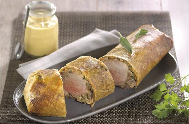 Filet mignon de porc en croûte - Photo par Amora