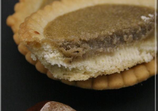 Mini tartelettes à la crème de châtaigne et fève Tonka - Photo par okcebon