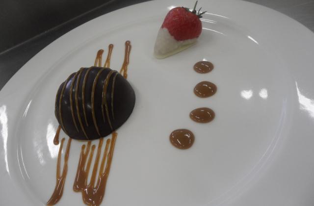 Coques aux 3 mousses aux 3 chocolats - Photo par zdepoi