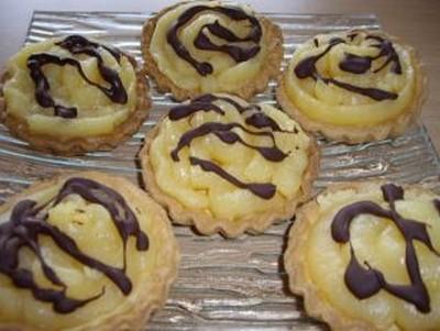 Tartelettes au Lemon Curd et chocolat - Photo par aoussa