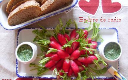 Beurre de radis façon Mamigoz - Photo par mamigoz