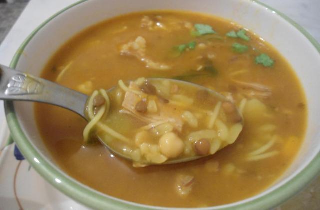La harira (soupe orientale) - Photo par DALILA34