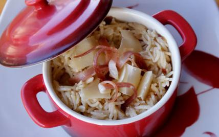 Risotto au jambon de Bayonne et parmesan - Photo par maryseKt
