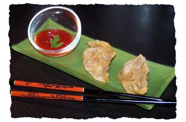 Ravioli chinois au porc et aux crevettes - Photo par audrey bureau