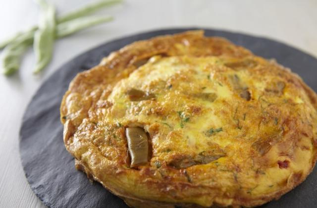Tortillas aux haricots plats, chorizo, mozzarella et persil plat - Photo par Cassegrain