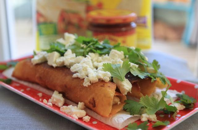 Flautas de poulet - Photo par Old El Paso