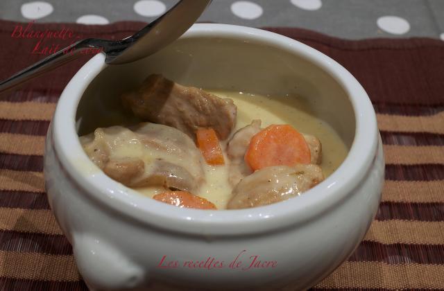 Blanquette de veau au lait de coco - Photo par jacre
