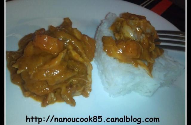 Mafé au poulet - Photo par Nanouucook