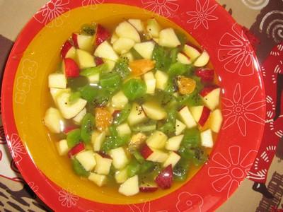 Salade de fruits hivernale et vitaminée - Photo par laurenhxx