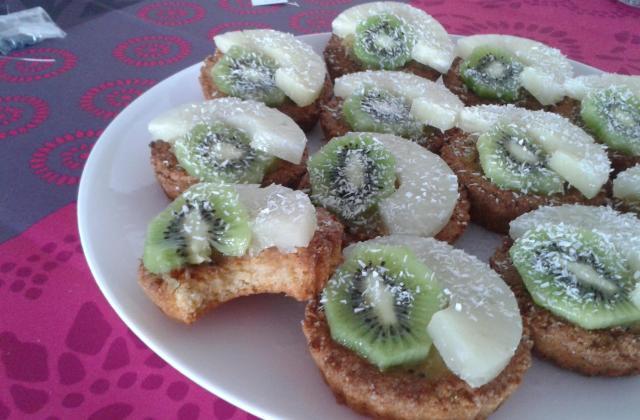 Cookies exotiques façon tartelettes - Photo par paulinni