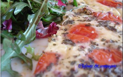 Quiche aux tomates cerises - Photo par isabelWmf