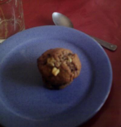 Triple chocolate chunk muffins - Photo par gaellelecolo43