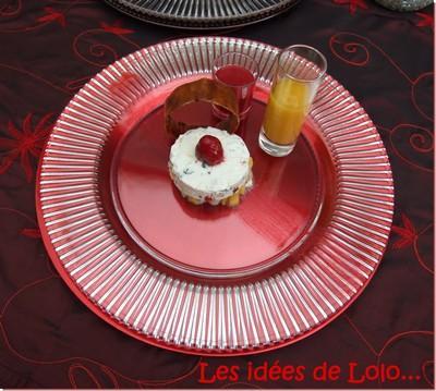 Nougat glacé sur un carpaccio mangue et litchies.... - Photo par lapopotedelolo