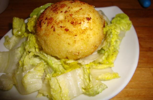 Œuf mollet frit - Photo par la cuisine de doudou