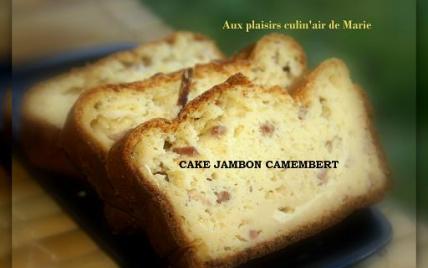 Cake jambon camembert - Photo par elisah