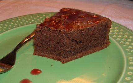 Moelleux au chocolat et aux amandes - Photo par alexre