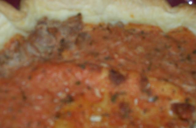 Tarte tomate thon - Photo par mamabio
