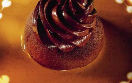 Palet et sorbet au chocolat, sauce café de Joël Robuchon - Photo par Joël Robuchon