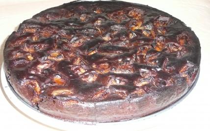 Gâteau chocolat-poire. - Photo par mallauT