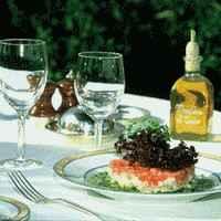 Salade d'artichauts et chair de tourteau - Tomate et huile de pistou - Photo par 750g