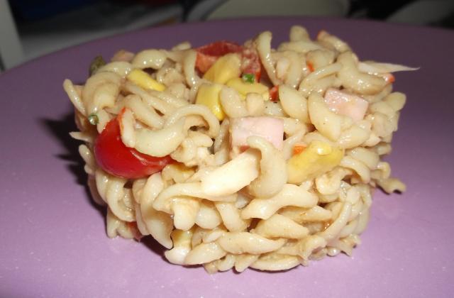 Salade de pâtes au Râpé de la Mer - Photo par Coraya