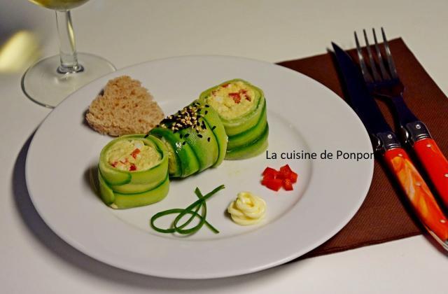 Maki de concombre au merlu - Photo par Ponpon