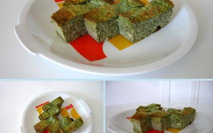 Flan vert de blettes au parmesan - Photo par melissYA