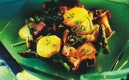 Poêlée de pommes de terre au foie gras - Photo par CNIPT