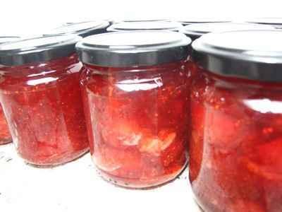 Confiture de fraise au Basilic - Photo par 750g